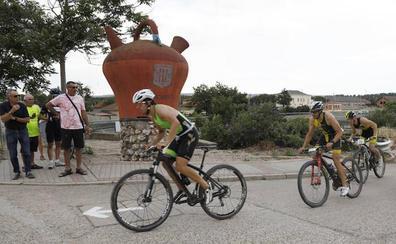 Calidad suprema en el triatlón de Dueñas