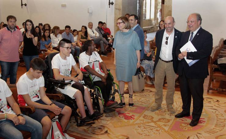 Inauguración de los 'Campus inclusivos' de la región en la USAL