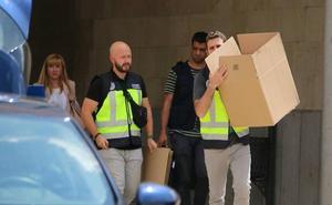 La UDEF buscó en los despachos de Ulibarri y García Martín pruebas de sobornos a los Ayuntamientos