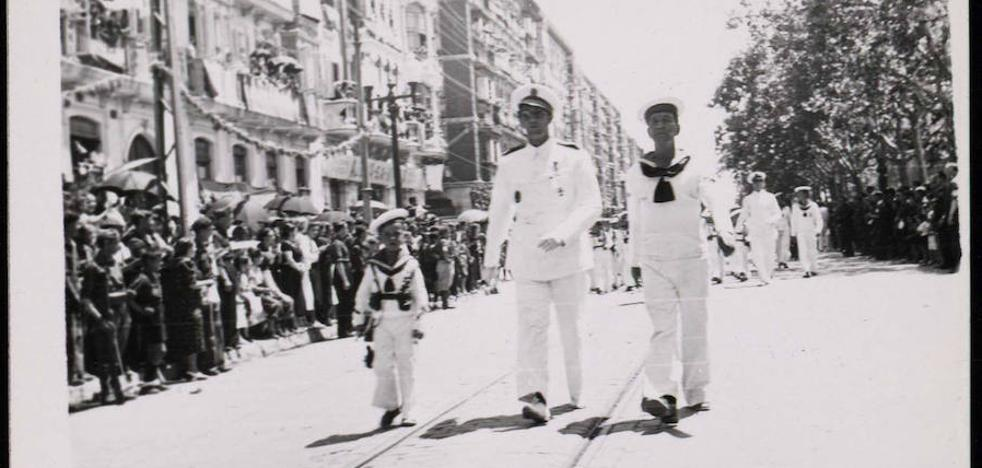 Imágenes de un Valladolid en guerra