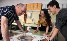 Estudiantes de Burgos presentan una investigación sobre el diagnóstico de la diabetes en el análisis del iris