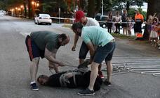 Un escapista pierde una apuesta de 1.000 euros con tres vecinos de San Rafael al fallar su truco