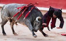 Javier Castaño se recupera bien de la cornada en Pamplona «que pudo ser peor»