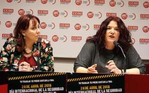 CC OO pide sanciones por el aumento de la siniestralidad en Castilla y León