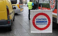 Denunciado por cuadruplicar la tasa de alcoholemia en un control en Palencia