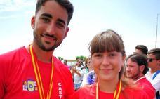 Alba Garrote logra el campeonato de España de Tiro con Arco 'equipos mixtos'