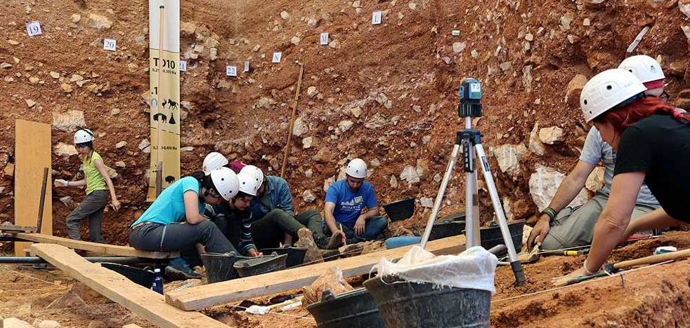 Unas 300.000 piezas han aparecido en la Gran Dolina de Atapuerca en 22 años