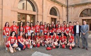 Los mejores alumnos de bachillerato de la Comunidad participan en un Campus académico en Soria
