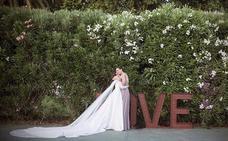 La felicidad de Eva González por la boda de su hermana
