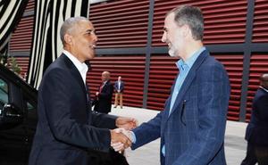 Los Obama viven Madrid