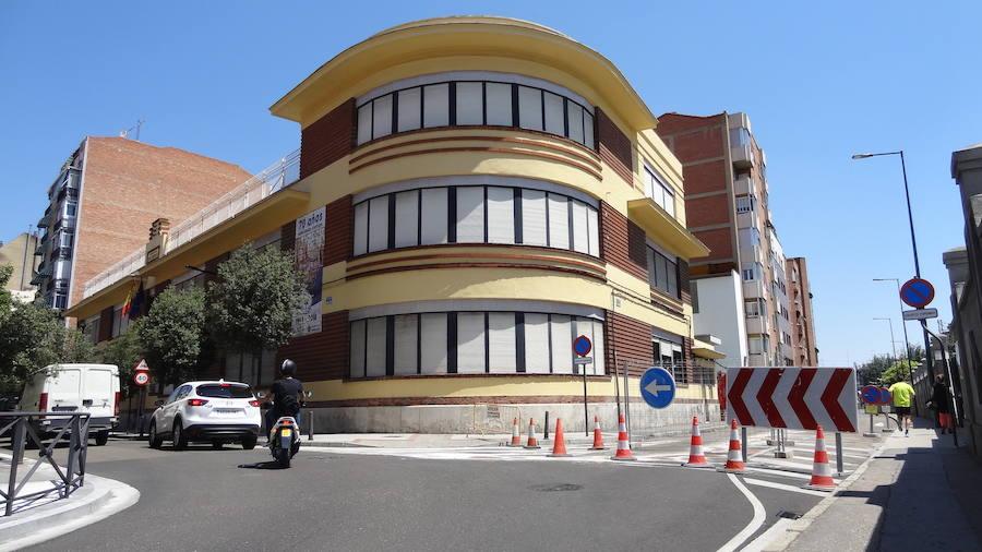 El asfaltado de San Quirce se suma a los cortes en torno al Puente Mayor de Valladolid