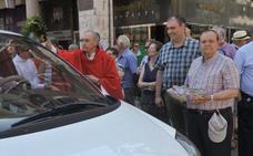 La división en el sector marca la fiesta patronal de los taxistas el día de San Cristóbal