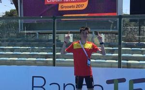 Mario García Romo se queda a las puertas de la la final de 1.500 en el mundial Sub 20 de Finlandia