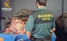 Cuatro investigados por robos en explotaciones agrícolas en Valladolid