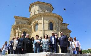 Palencia acerca a Francia su patrimonio cultural