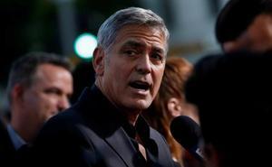 George Clooney, herido leve tras un accidente de moto en Cerdeña