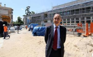 El nuevo campus de Segovia tendrá cafetería y una cancha deportiva anexa