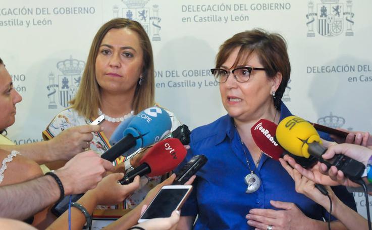 Toma de posesión de Helena Caballero como subdelegada del Gobierno en Valladolid