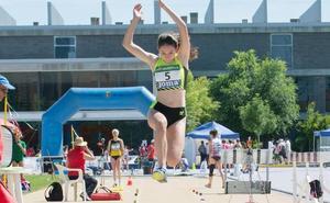 Una generación de oro se asoma en el atletismo palentino