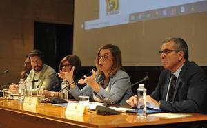 Ángeles Armisén participa en unas jornadas sobre despoblación rural en Huesca