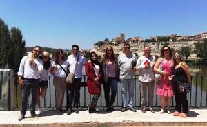 Representantes de instituciones de Emiratos Árabes y Oriente Medio visitan Zamora