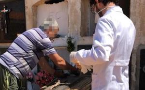 Hallan el cadáver de un hombre en la tumba de una 'niña robada'