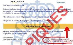 La Policía alerta de unos correos que suplantan la identidad de Endesa y de Amazon