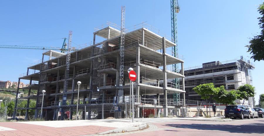 La urbanización del solar de Panibérica abre paso a otros 335 pisos junto al río en Valladolid