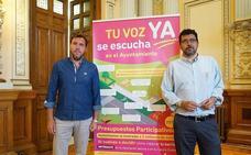 Valladolid destinará 4,5 millones a 103 propuestas vecinales en los presupuestos de 2019