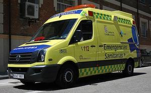 Dos heridos en un accidente de moto a las afueras de Medina del Campo