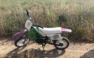 Sorprenden a un menor de 13 años conduciendo una motocicleta sin permiso en Valladolid