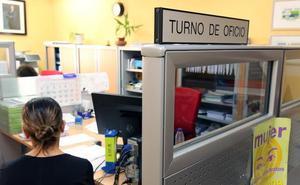 Las solicitudes de justicia gratuita en Segovia aumentan un 43% en dos años