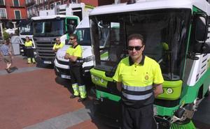 Valladolid renueva su flota de limpieza con 10 vehículos diésel