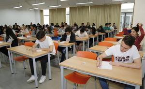 El 83,6% de los alumnos supera la EBAU en julio