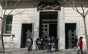 La UVA admite a 5.784 alumnos de los 8.059 que lo solicitan