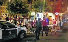 En libertad con cargos los dos detenidos por asestar navajazos a tres peñistas en La Cistérniga