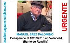 Buscan a un hombre de 87 años desaparecido en Valladolid