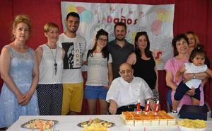 El Ayuntamiento honra al vecino centenario Jesús Martín Casquero