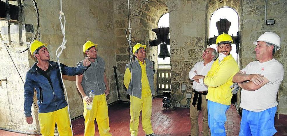 El patio de campanas de la Catedral de Palencia se abre al turismo