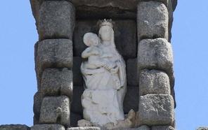 Un patrocinador asumirá el gasto de la restauración de la Virgen del Acueducto