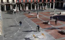 A partir de hoy se desvía la salida del parking de la Plaza Mayor de Valladolid de la calle Jesús hacia Pasión