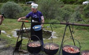 La fiesta de la Montaña Palentina reúne a cientos de vecinos en Fuentes Carrionas