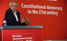 Borrell recuerda que retirar las acusaciones a los presos es una cuestión judicial y no del Gobierno