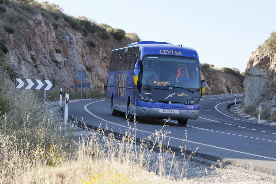 Piden soluciones al Ministerio de Fomento ante las quejas contra la línea de autobús Ávila-Madrid