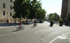 Abierto al tráfico el centro de Valladolid tras reducirse la contaminación