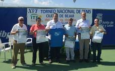 Récord de inscritos en el XVI Open Nacional Ciudad de Béjar con 480 tenistas