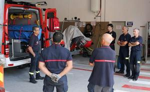 Los Bomberos de Valladolid diseñan su espacio de trabajo