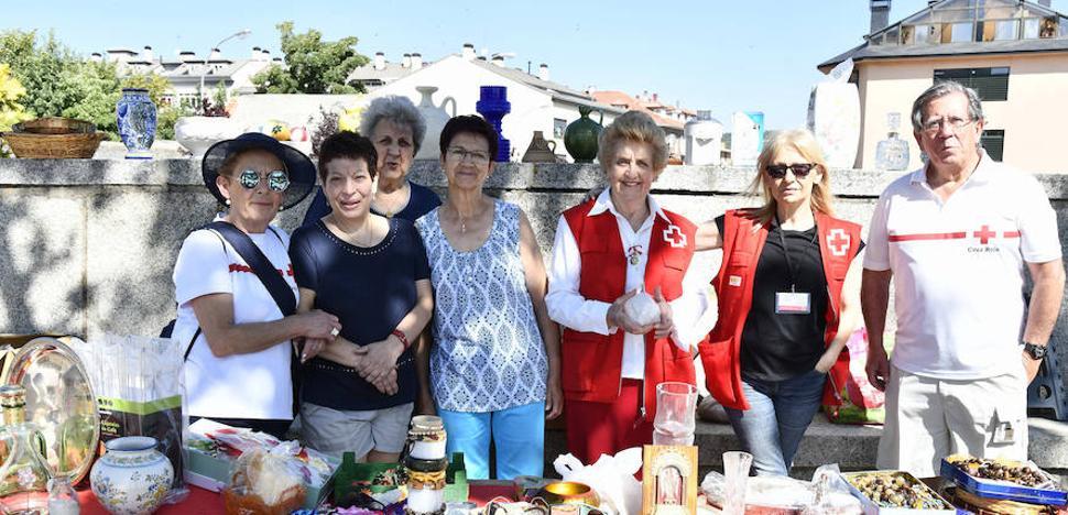 La solidaridad también veranea en El Espinar