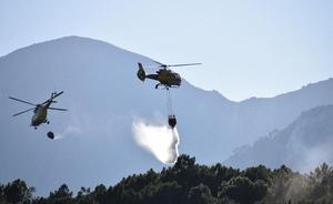 El fin de semana deja tres incendios en la provincia de Ávila, dos de ellos intencionados