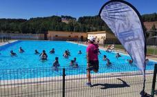 El programa 'Muévete con la Diputación' llega de nuevo a las piscinas de la provincia